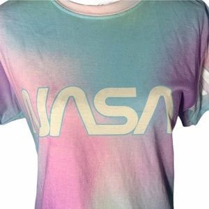 nasa Tops - For Morgan - NASA Tie Dyed Graphic Tee Sz M